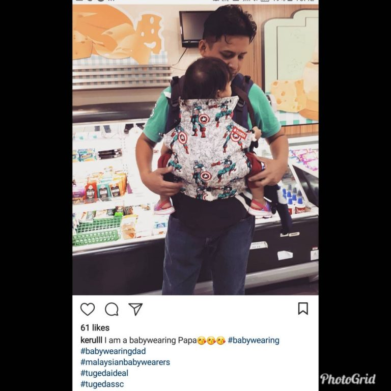 Baby Carrier Malaysia Soft Structured Carrier Malaysia Testimoni Tugeda hashtag 10