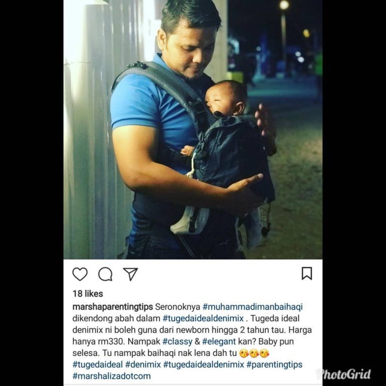 Baby Carrier Malaysia Soft Structured Carrier Malaysia Testimoni Tugeda hashtag 11