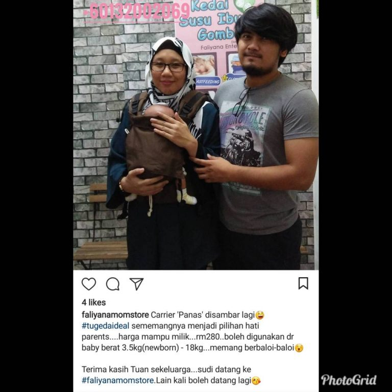 Baby Carrier Malaysia Soft Structured Carrier Malaysia Testimoni Tugeda hashtag 13