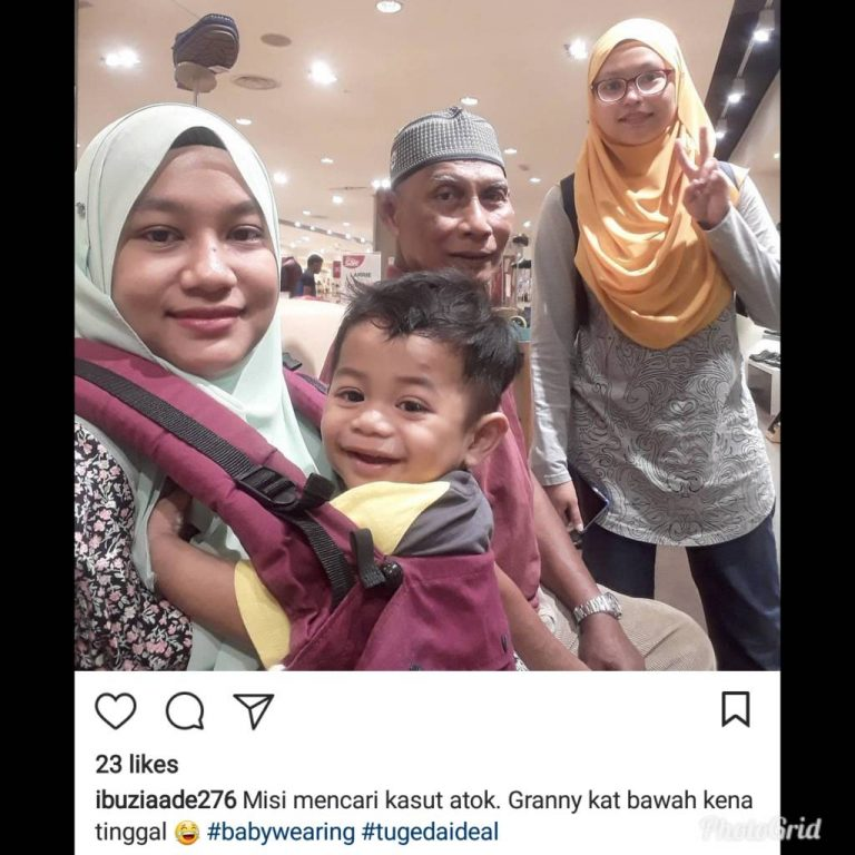 Baby Carrier Malaysia Soft Structured Carrier Malaysia Testimoni Tugeda hashtag 16