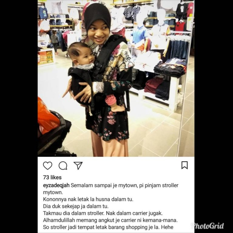 Baby Carrier Malaysia Soft Structured Carrier Malaysia Testimoni Tugeda hashtag 6