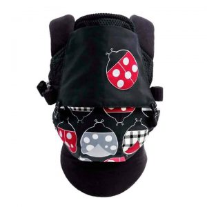 Baby Carrier Malaysia Soft Structured Carrier Malaysia (Ladybug Printed)