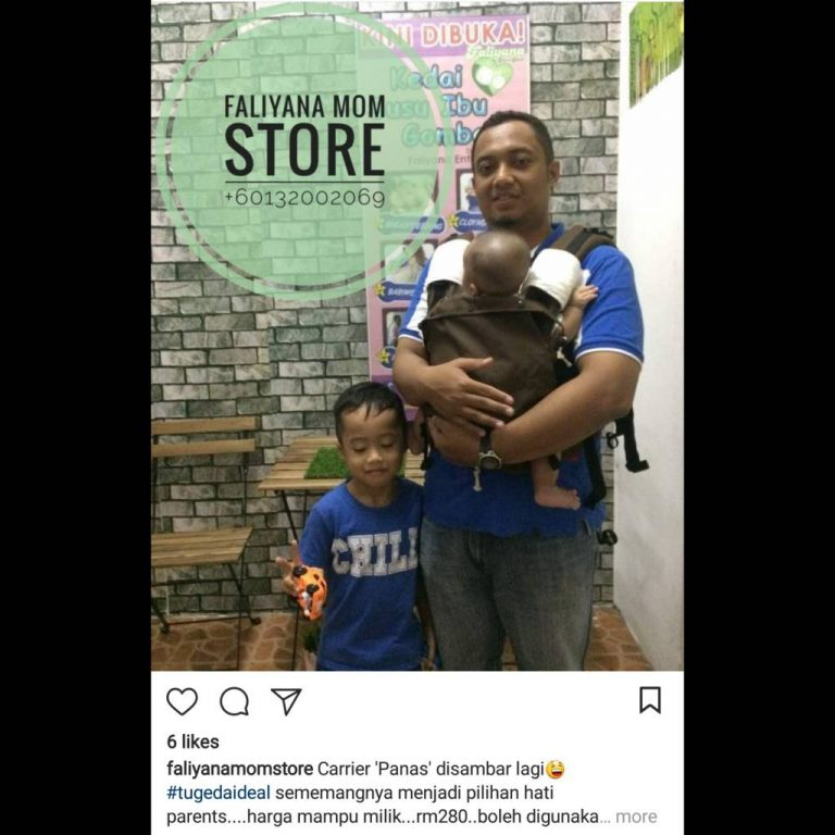 Baby Carrier Malaysia Soft Structured Carrier Malaysia Testimoni Tugeda hashtag 12