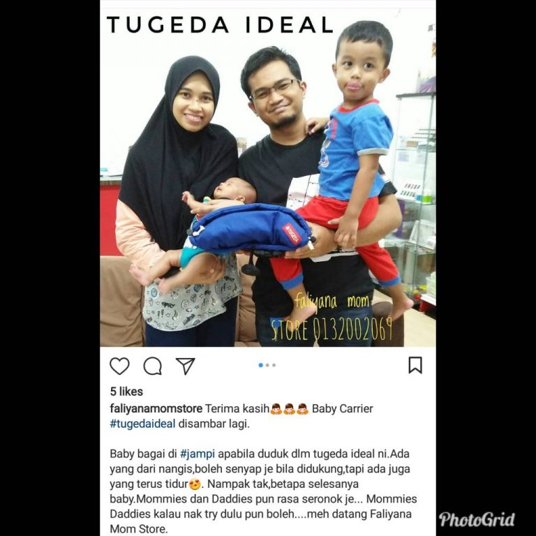 Baby Carrier Malaysia Soft Structured Carrier Malaysia Testimoni Tugeda hashtag 18