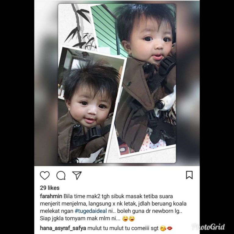 Baby Carrier Malaysia Soft Structured Carrier Malaysia Testimoni Tugeda hashtag 2