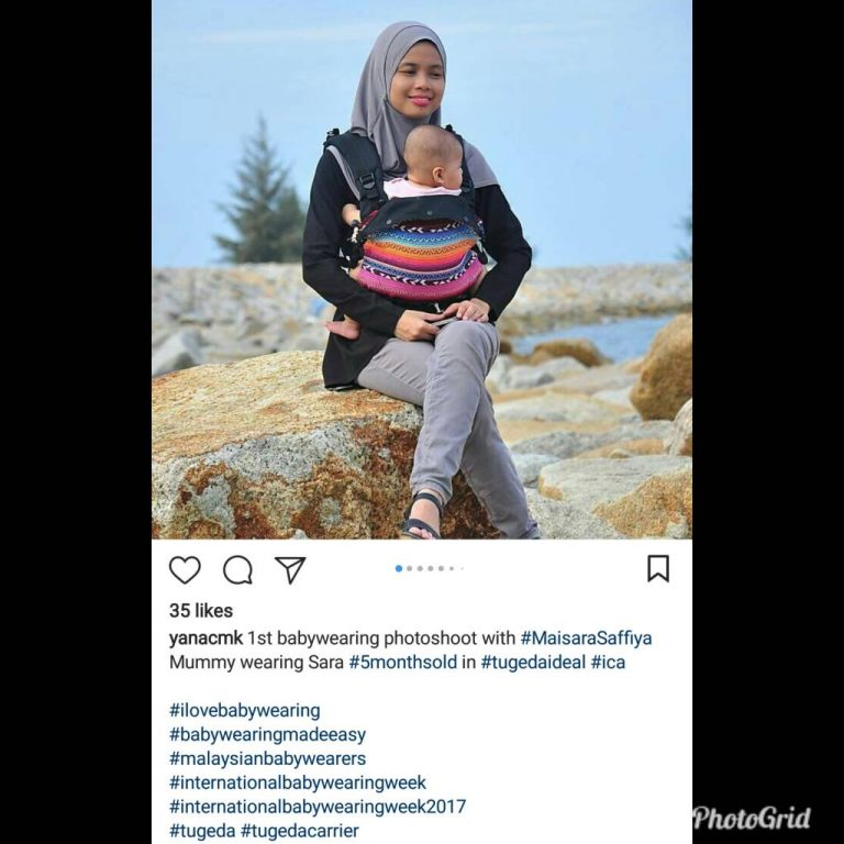 Baby Carrier Malaysia Soft Structured Carrier Malaysia Testimoni Tugeda hashtag 3