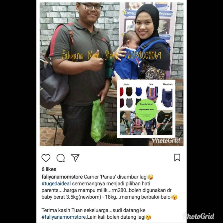 Baby Carrier Malaysia Soft Structured Carrier Malaysia Testimoni Tugeda hashtag 4