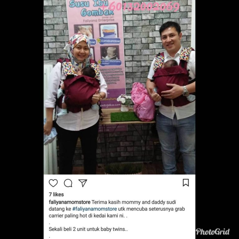 Baby Carrier Malaysia Soft Structured Carrier Malaysia Testimoni Tugeda hashtag 5