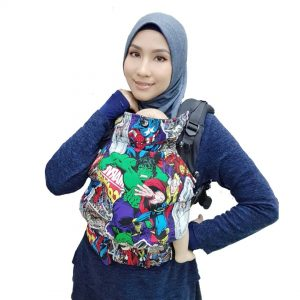 Baby Carrier, Soft Structured Carrier Avengers Comic Ideal
