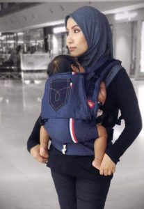 Baby Carrier, Soft Structured Carrier Denimix