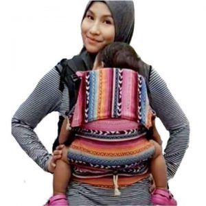 Baby Carrier, Soft Structured Carrier hassina pink