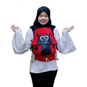 Baby Carrier, Soft Structured Carrier ladybug ideal