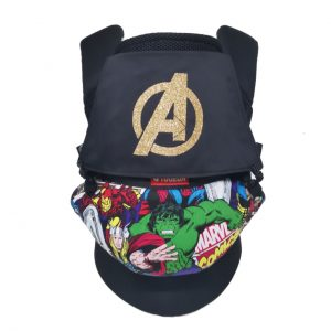 Baby carrier Soft Structured Carrier Tugeda Air Comic