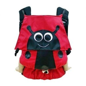 Babycarrier Soft Structured Carrier Tugeda Ideal Ladybug