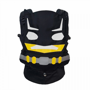 Baby carrier, soft structured carrier, batman baby carrier